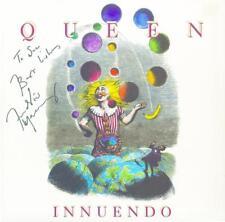 Freddie Mercury Queen Authentic Signed /Autographed Innuendo Album Cover W/ PSA