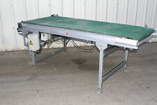 "Okura Uni-Con II Belt Conveyor 8' Long x 38"" Wide with Mitsubishi Speed Control"