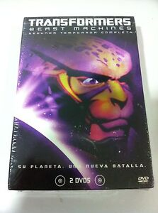 TRANSFORMERS-BEAST-MACHINES-2-DVD-TEMPORADA-2-COMPLETA-NEW-SEALED-PRECINTADA
