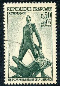 STAMP-TIMBRE-FRANCE-OBLITERE-N-1411-RESISTANCE