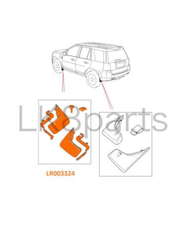 LAND ROVER LR2 07-12 FRONT MUD FLAPS FLAP SET LR003324 NEW