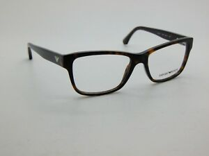 ac4fb6790b6 NEW Authentic Emporio Armani EA 3051 5026 Havana Tortoise 53mm Rx ...
