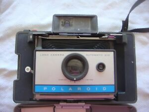 polaroid 210 land camera automatic with strap- have no idea if it works