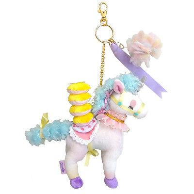 ECONECO Animal Parade Soft Plush Doll Carabiner Strap Charm (Unicorn / Unita)
