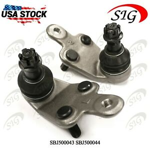 QH QSJ3270S Ball Joint Front Lower LH /& RH