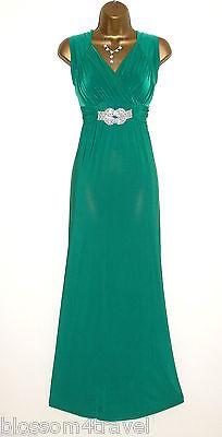 KDK Green Cap Sleeve Cross Bust Ruched Waist Evening Cocktail Party Dress