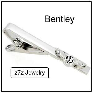 Bentley Tie Bar /& Cufflinks Set Luxury Auto Tie Clip and Matching Cufflinks