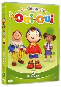 Je-decouvre-avec-Oui-Oui-volume-4-Ma-famille-DVD-NEUF-SOUS-BLISTER