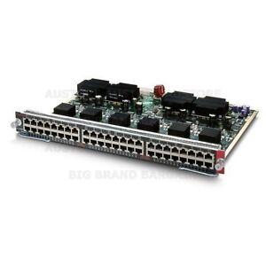 Genuine-Original-Cisco-48-Port-Ethernet-Switching-Module-WS-X4248-RJ45v-As-New