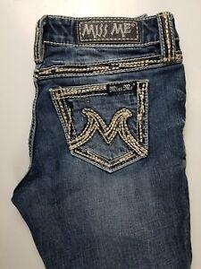 Miss-Me-The-M-Series-Easy-Capri-Womens-Jeans-Sz-27