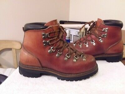 78cc875d9928b Vintage 70's Red Wing Irish Setter Sport Boots Hiking Mountaineering Sz 6C  NICE! | eBay