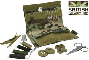 Army-Combat-Military-S95-Sewing-Repair-BTP-Camo-Travel-Pocket-Field-Compact-Kit