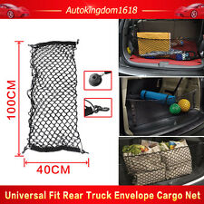 Black Envelope Trunk Mesh Cargo Net For Chevrolet GMC 2010-2016 Plus Mounting US