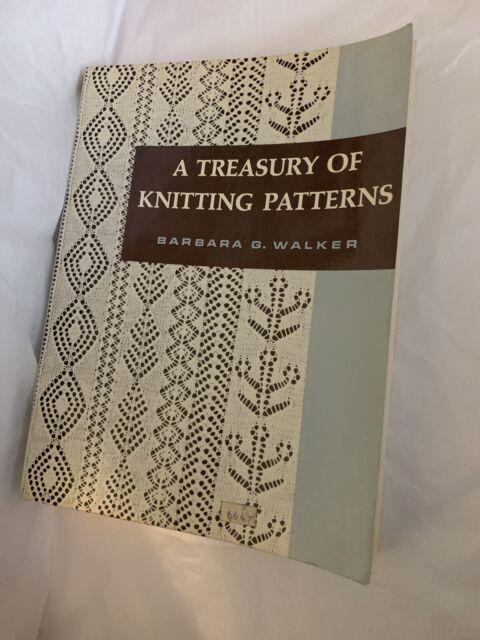 A Treasury Of Knitting Patterns Book By Barbara G. Walker ...