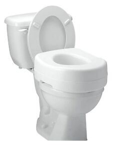 Raised Toilet Seat Elevated Carex Elevator Standard