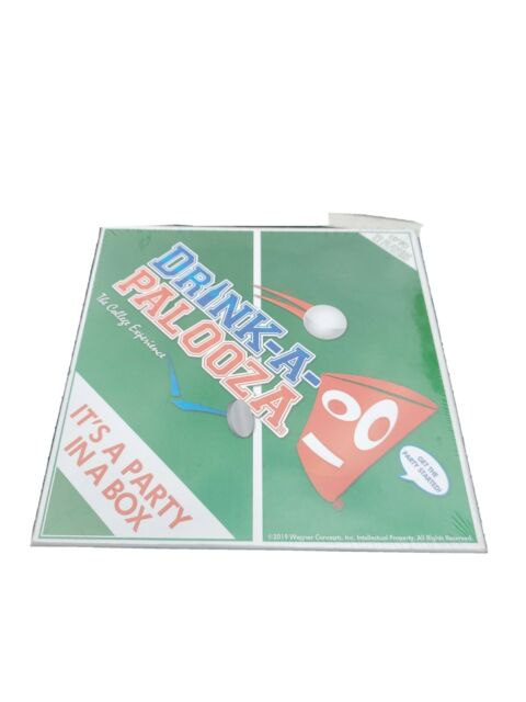 DRINK A PALOOZA Drinking Board Game: College Games FREE SHIPPING