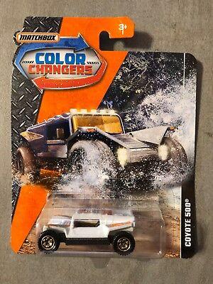 Coyote 500 • Color ChangersMatchbox 2018