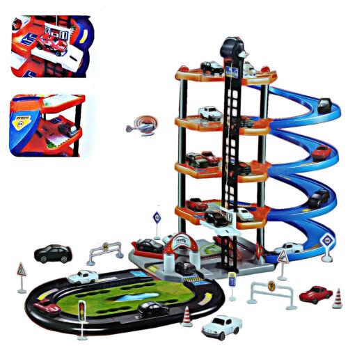 5 livello Kids 5 Auto Garage vialetto AUTO Playset Giocattolo i veicoli con LIFT