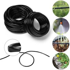 PVC Micro Drip Irrigation Tube Plants Sprinkler Pipe Garden Watering Hose NIGH