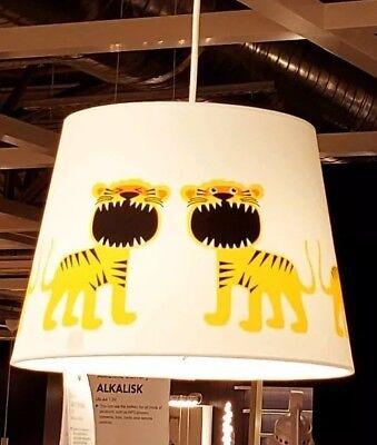 Ikea Trollakulla Lamp Shade White With, White Childrens Lampshade