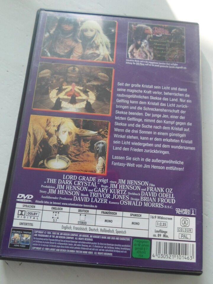 Den sorte krystal, instruktør Jim Henson, DVD