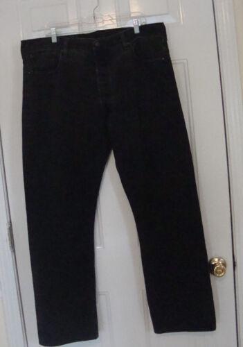 Noir 501 Levis 2 Jeans Actuel Fly 1 Button 40X30 AqT6P