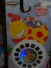 2004 VIEW MASTER MAGGIE AND THE FEROCIOUS BEAST 3D REELS #C7154!!