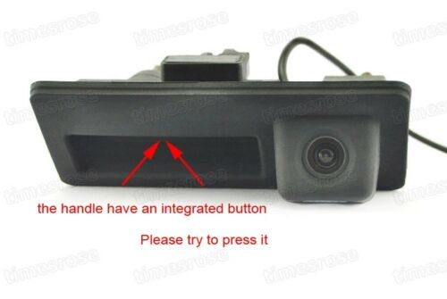 Car Trunk Handle w// Rear View Camera Reverse Parking for VW Tiguan 2012-2016