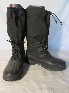 Rubberfabric Shank 9 Black Details Zu E1579 Steel Sorel Boots Men's WIe9H2EDY