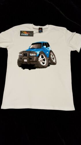 T-shirt Toyota Landcruiser 4X4 off road 4WD AS Colour shirt car enthusiast