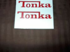 TONKA TRUCK  63-65 CAMPER  LOGO DECALS