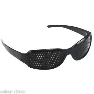 Black-Eyesight-Improvement-Vision-Care-Exercise-Eyewear-Pinhole-Glasses-Training