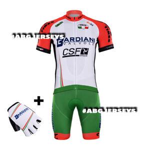 NEW 2017 Bardiani CSF CYCLING JERSEY + BIB HOBBY SET TOUR DE FRANCE ... b0fbe7d01