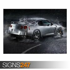 NISSAN GT R CAR 8 Photo Picture Poster Print Art A0 to A4 AC667 CAR POSTER