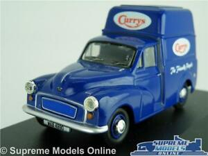 MORRIS-MINOR-MODEL-VAN-CURRYS-1-43-SCALE-OXFORD-MM031-HIGH-ROOF-BLUE-K8