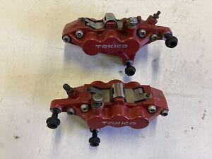 1997 Triumph Sprint Tokico 6 piston caliper set