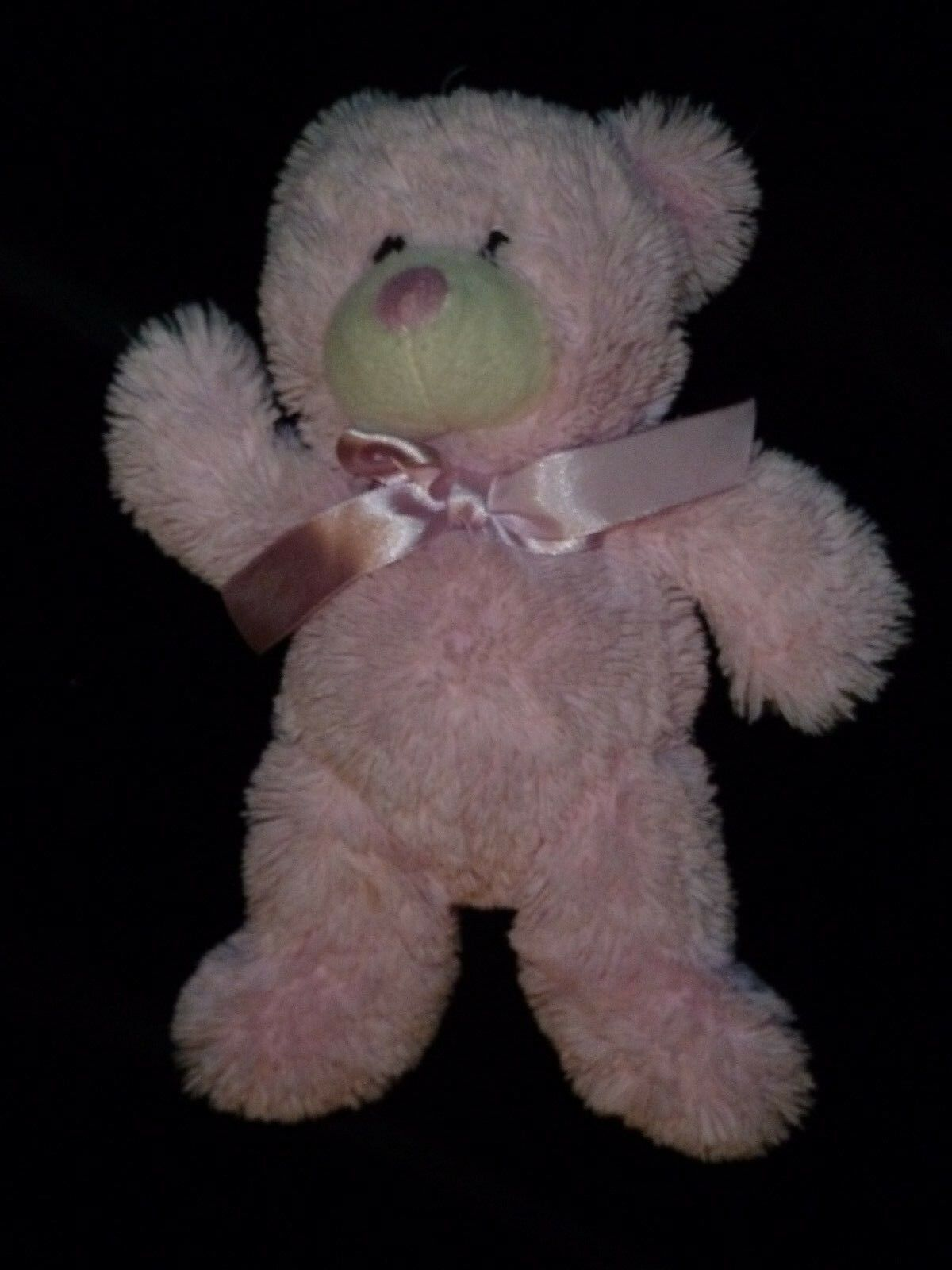 ANIMAL ADVENTURE STUFFED PLUSH PINK TEDDY BEAR 2013 11