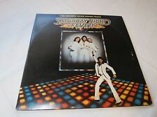 Saturday Night Fever Gatefold sound track Bee Gees LP Album RARE Record vinyl