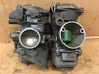 1984 1985 Yamaha Xv1000 Virago Carburetors Carbs Parts Carbs 41 Ebay