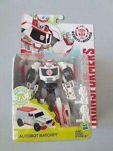 Robots à cliquet Transformers Autobot dans une plume de classe Warrior déguisée