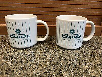 Lot of 2 - Vintage SANDS HOTEL CASINO Coffee Cups - Las Vegas | eBay