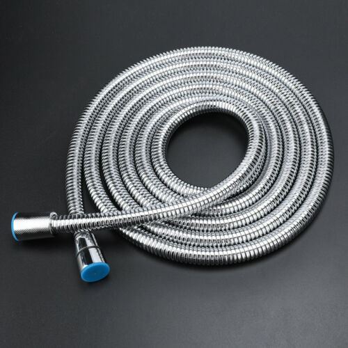 10FT Stretchable Extra Long Stainless Steel Handheld  Shower Head Hose 11.8inch