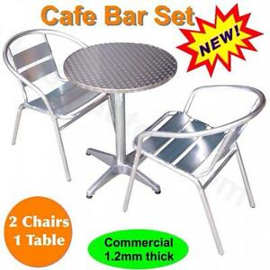 outdoor cafe table and chairs set commercial aluminum restaurant