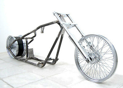 250 WIDE CUSTOM BOBBER MOTORCYCLE ROLLING CHASSIS KIT FIT HARLEY SPORTSTER MOTOR