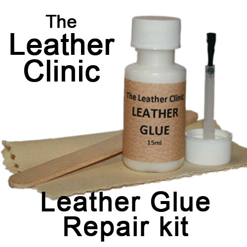 Leather Repair Glue Repair Kit for Rips & Tears & Holes No sewing required.