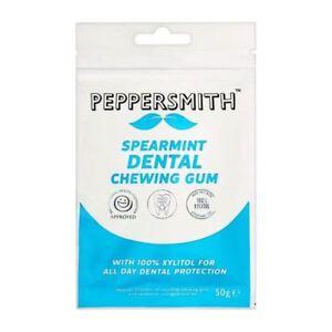 Peppersmith Xylitol Naturel Anglais Menthe Gum 50 G-afficher Le Titre D'origine 9j701jdk-10105950-232373274