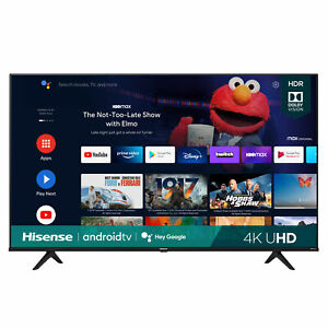 Hisense 65 Inch A6G Series 4K UHD Smart Android TV w/Dolby Vision HDR 65A6G 2021