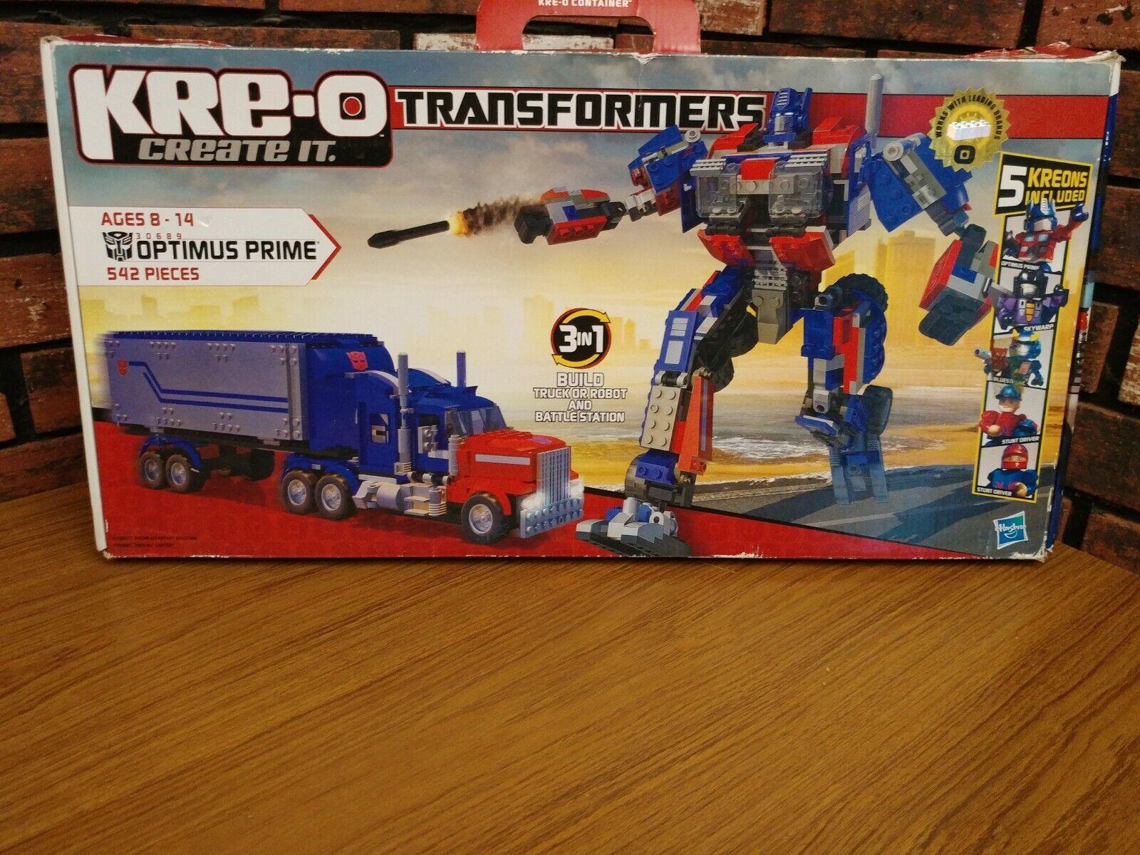 KRE-O TRANSFORMERS 30689 OPTIMUS PRIME NEW IN BOX SEALED