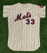 Ray Sadecki New York Mets Game Used Worn Jersey 1972 Excellent Use
