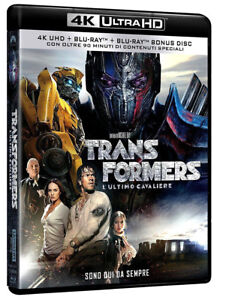 TRANSFORMERS-5-L-039-ULTIMO-CAVALIERE-BLU-RAY-4K-Ultra-HD-BLU-RAY-EXTRA-90-039